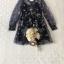 เสื้อผ้าแฟชั่นเกาหลี Lady Ribbon Thailand Seoul Secret Say'...Korea Style Minidress Tulle Department&Cream Embroidery Fancy thumbnail 8