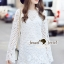 Seoul Secret Say's... Layer Sleeve Princess Lace Dress thumbnail 4