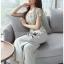 เสื้อผ้าแฟชั่นเกาหลี Lady Ribbon Thailand Lady Ribbon's Made Lady Zara Summer Style Floral Printed Jumpsuit thumbnail 2