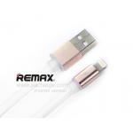 สายชาร์จ REMAX หัวอะลูมิเนียม Lighting Cable (สีขาว)