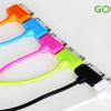 สายชาร์จ iPhone 4/4S GOLF Colorful ยาว 2 เมตร