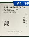 [FM1] A4-3400 2.7 GHz, APU