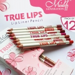*HOT*Me Now True Lips Lip Liner Pencil ลิปไลน์เนอร์ 12แท่ง 12สี
