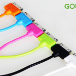 สายชาร์จ iPhone 4/4S GOLF Colorful ยาว 1 เมตร