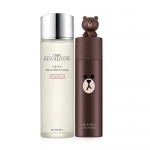 *New*Missha Line Friends Edition Time Revolution The First Treatment Essence + Essence intensive #Brown