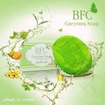 สบู่หน้าใส ชาเขียว BFC Greentea Soap