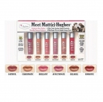 The Balm Meet Matt(e) Hughes Exclusive New Shades 6 Mini Liquid Lipsticks