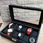 กล่องเก็บนาฬิกา 12 ช่อง เคฟล่า