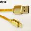 สายชาร์จ iPhone REMAX GOLD Series thumbnail 1