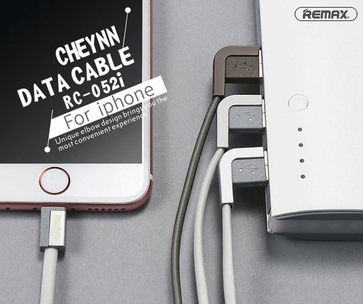 สายชาร์จ iPhone REMAX CHEYNN RC-052i