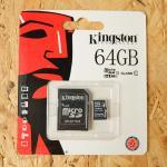 Micro SD Kington 64 GB Class10(ไม่รับประกัน)