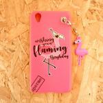 เคส flamingo ห้อย A37(A37F)
