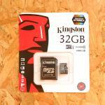 Micro SD Kington 32 GB Class10 (แท้)