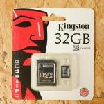 Micro SD Kington 32 GB Class10(ไม่รับประกัน)