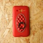 เคสเจ้าหญิงแหวนเพชรเตลือบสีเมทัลลิค J2 แดง