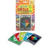 CIRCUS Z เซอร์คัสแซด (เกมการ์ดต่อสีและอักษรเหมือน)