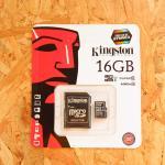 Micro SD Kington 16 GB Class10 (แท้)