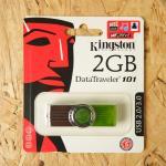 แฟลชไดร์ฟ Kingston USB 2.0/3.0 2GB(ไม่รับประกัน)