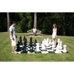 "25"" Garden Chess Set with Plastic Board"