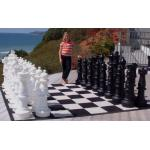 "36"" Garden Chess Set with Plastic Board"