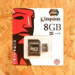 Micro SD Kington 8 GB Class10 (แท้)