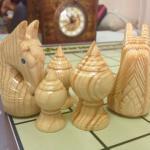 ตัวหมากรุกไทยไม้รุ่นสุดยอดเซียน