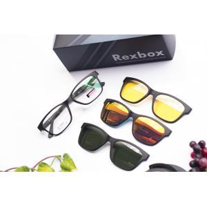 Rexbox รุ่น ex02 [Full Pack x3 คลิปออน กันแดด,ปรอท,กลางคืน]