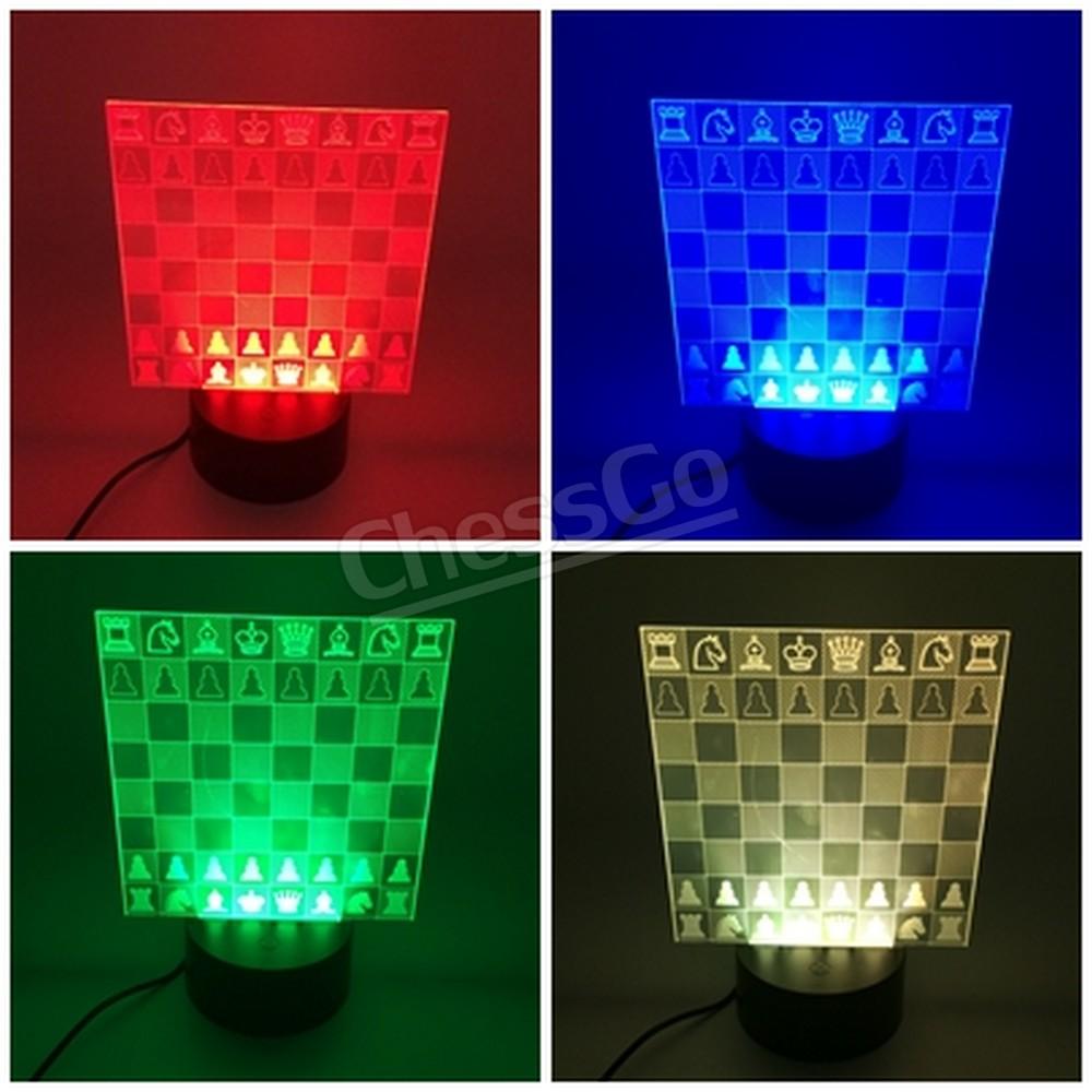 Chess LED รูปกระดานหมากรุก