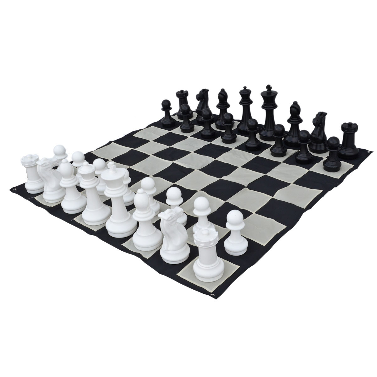 "12"" Garden Chess Set with Nylon Board"