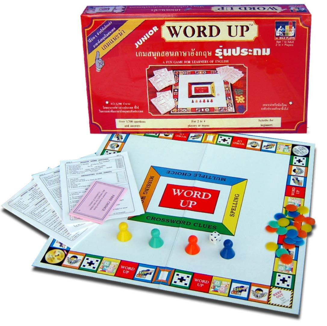 WORD UP เวิร์ดอัพ (เกมตอบคำถามภาษาอังกฤษ) ระดับประถม