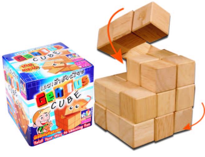 Genius Cube จีเนียสคิ๊วบ์ (เต๋าอัจฉริยะ)