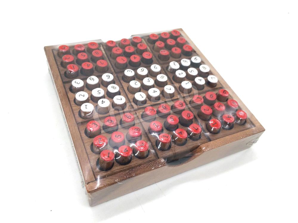 ซูโดกุไม้(ตัวเลข2ด้าน) Sudoku 2