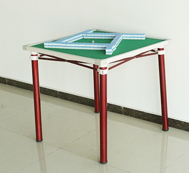 โต๊ะไพ่นกกระจอกขาเหล็ก