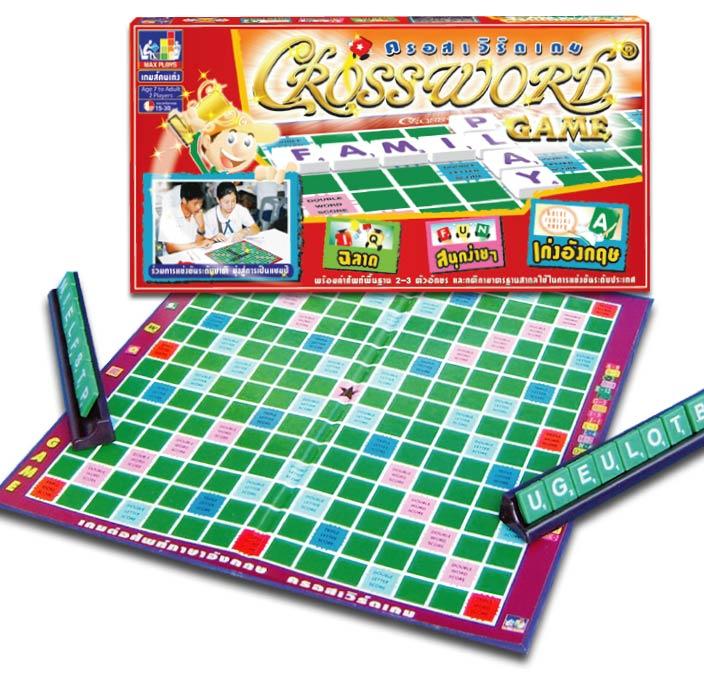 Crossword ครอสเวิร์ดมาตรฐาน(กระดานกระดาษ)