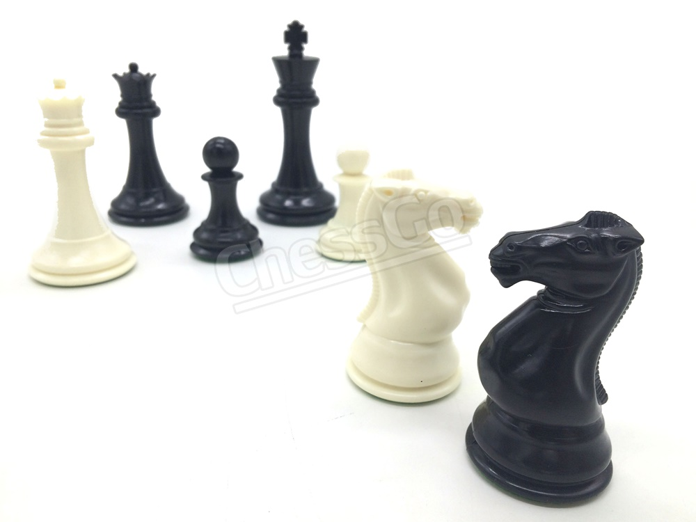 "4"" Professional Series Chess Pieces (weighted)"