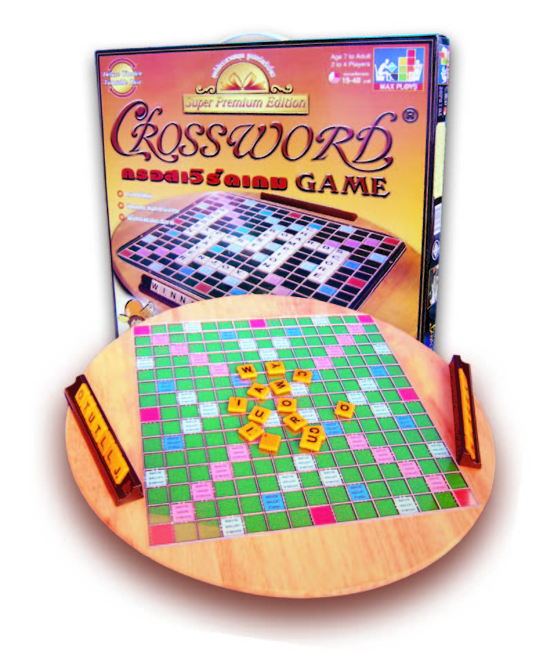 Crossword ครอสเวิร์ดมาตรฐาน(กระดานไม้หมุน)
