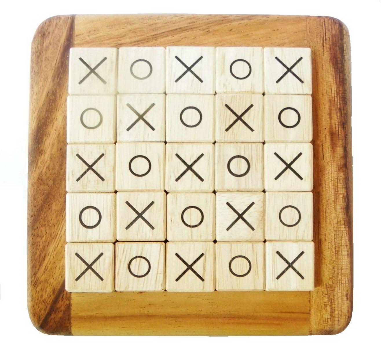 โอเอกซ์ไม้ 5x5 OX