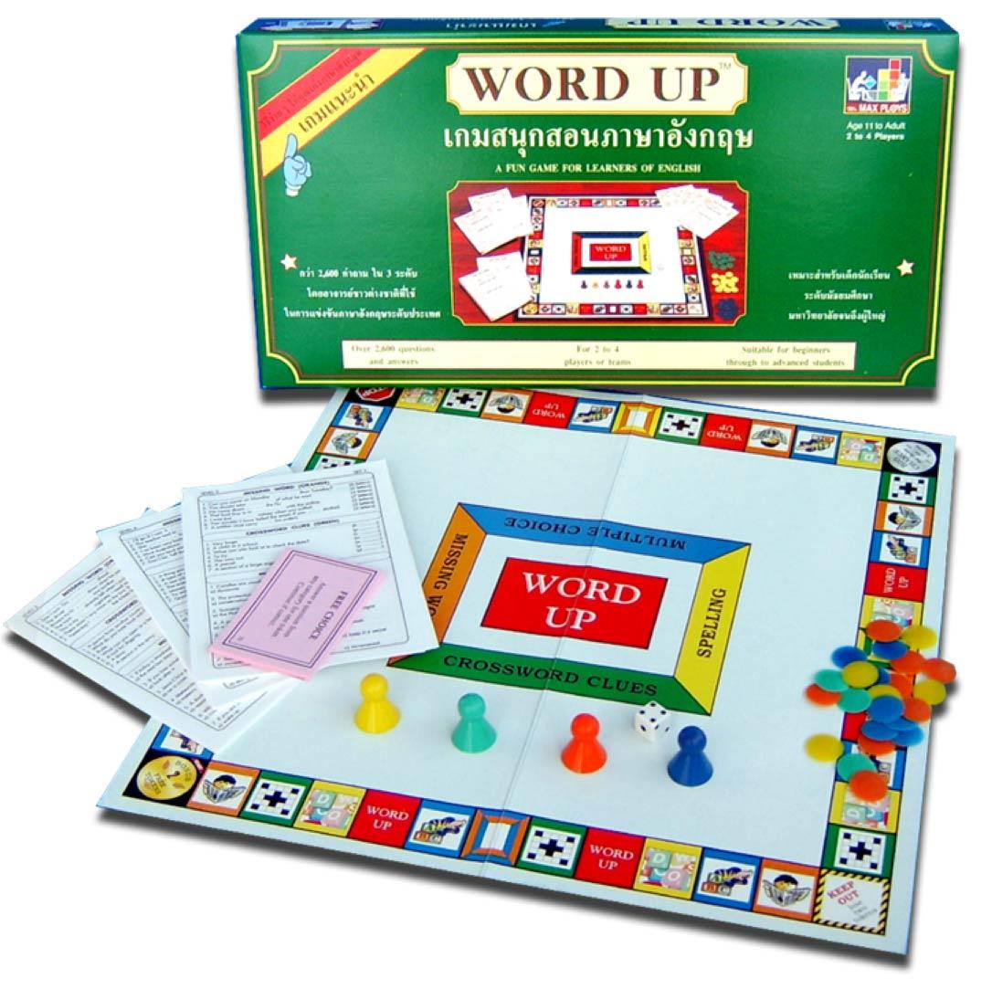 WORD UP เวิร์ดอัพ (เกมตอบคำถามภาษาอังกฤษ) ระดับมัธยม - มหาวิทยาลัย