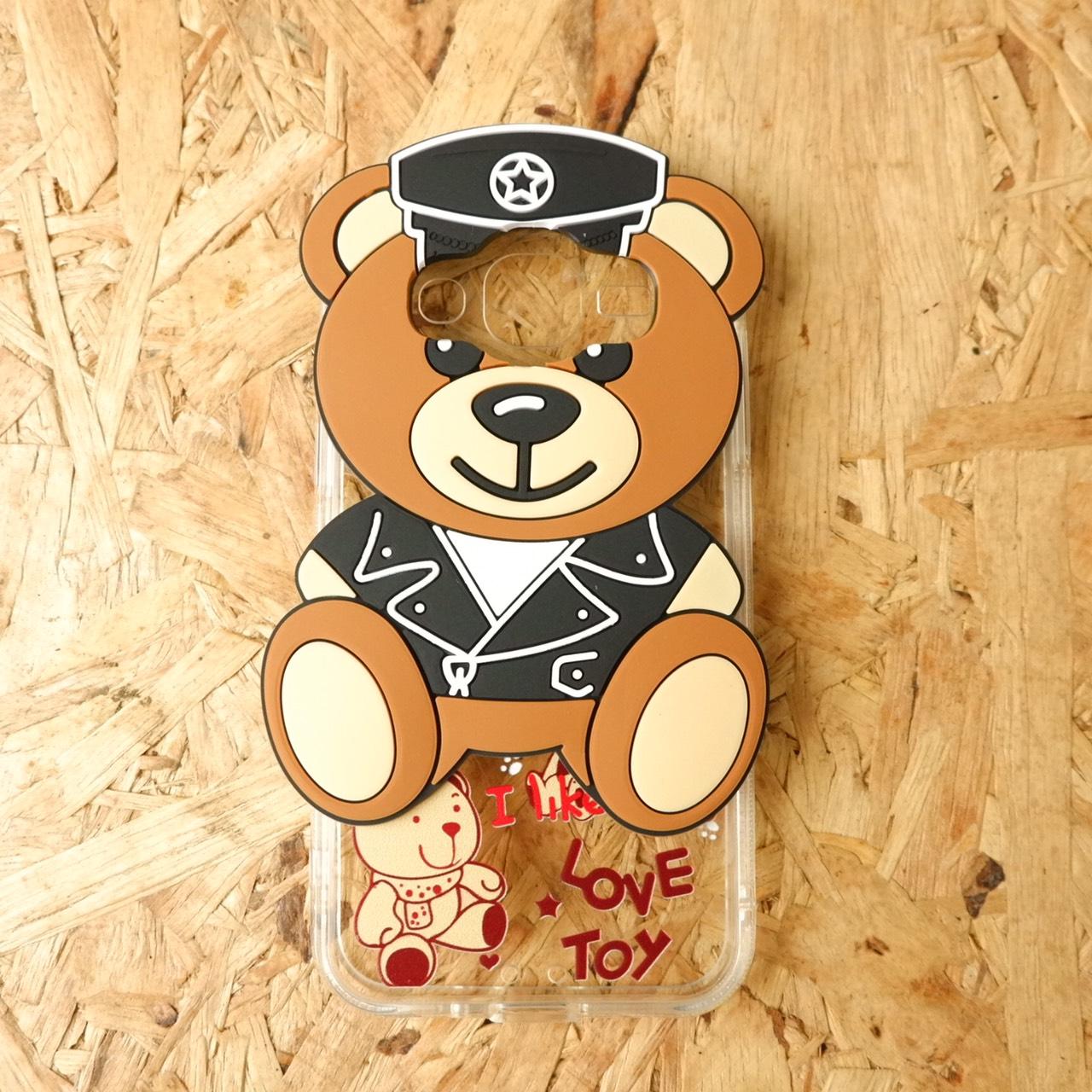 TPU ใส หมี Toy J2