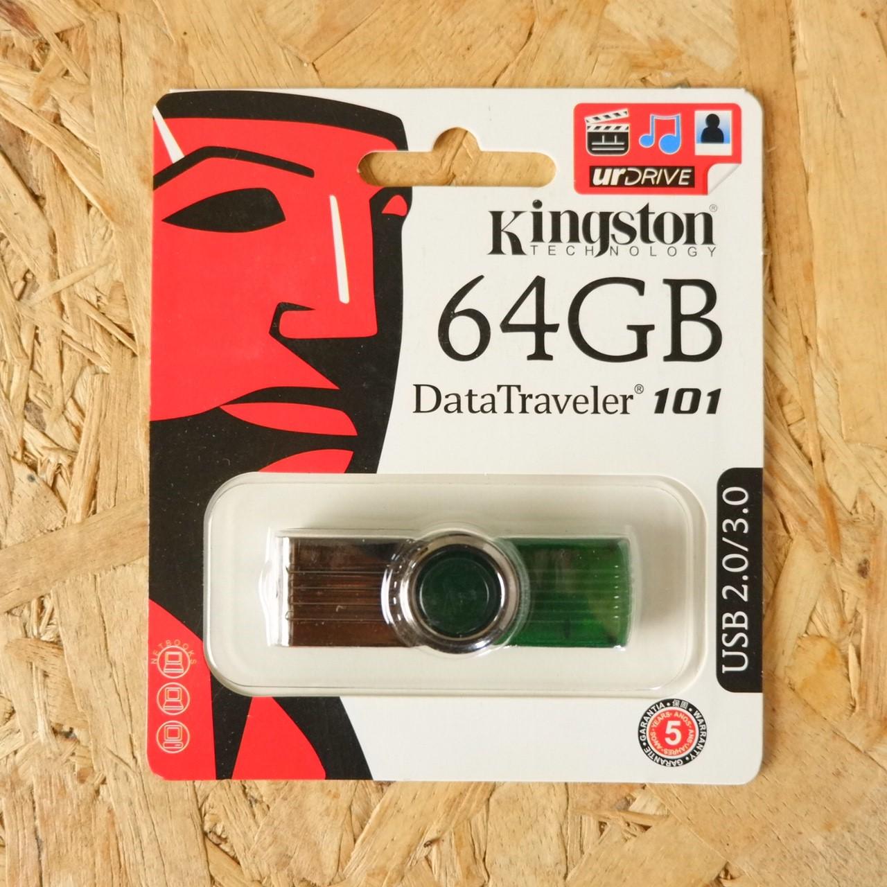 แฟลชไดร์ฟ Kingston USB 2.0/3.0 (ไม่รับประกัน)