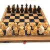 หมากรุกฝรั่งไม้พับ chess 3in1 M