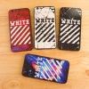 เคสลายเส้นนูน WHITE iphone 6 plus/6s plus