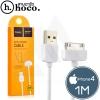 สายชาร์จ hoco X1 Micro USB 1 เมตร สำหรับ iphone 4/4s
