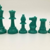 "3"" Colored Plastic Chess Piece"