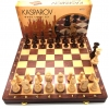 Kasparov Wood Chess Set 2