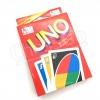 การ์ด UNO เกมต่อสีอักษรเหมือน