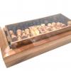 หมากรุกฝรั่งไม้พับ chess 3in1 L