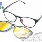 [Zenith 001 ] กรอบแว่นคลิปออนแม่เหล็ก