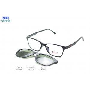 Rexbox Ex2 แว่นคลิปออนแม่เหล็ก [สีดำด้าน]