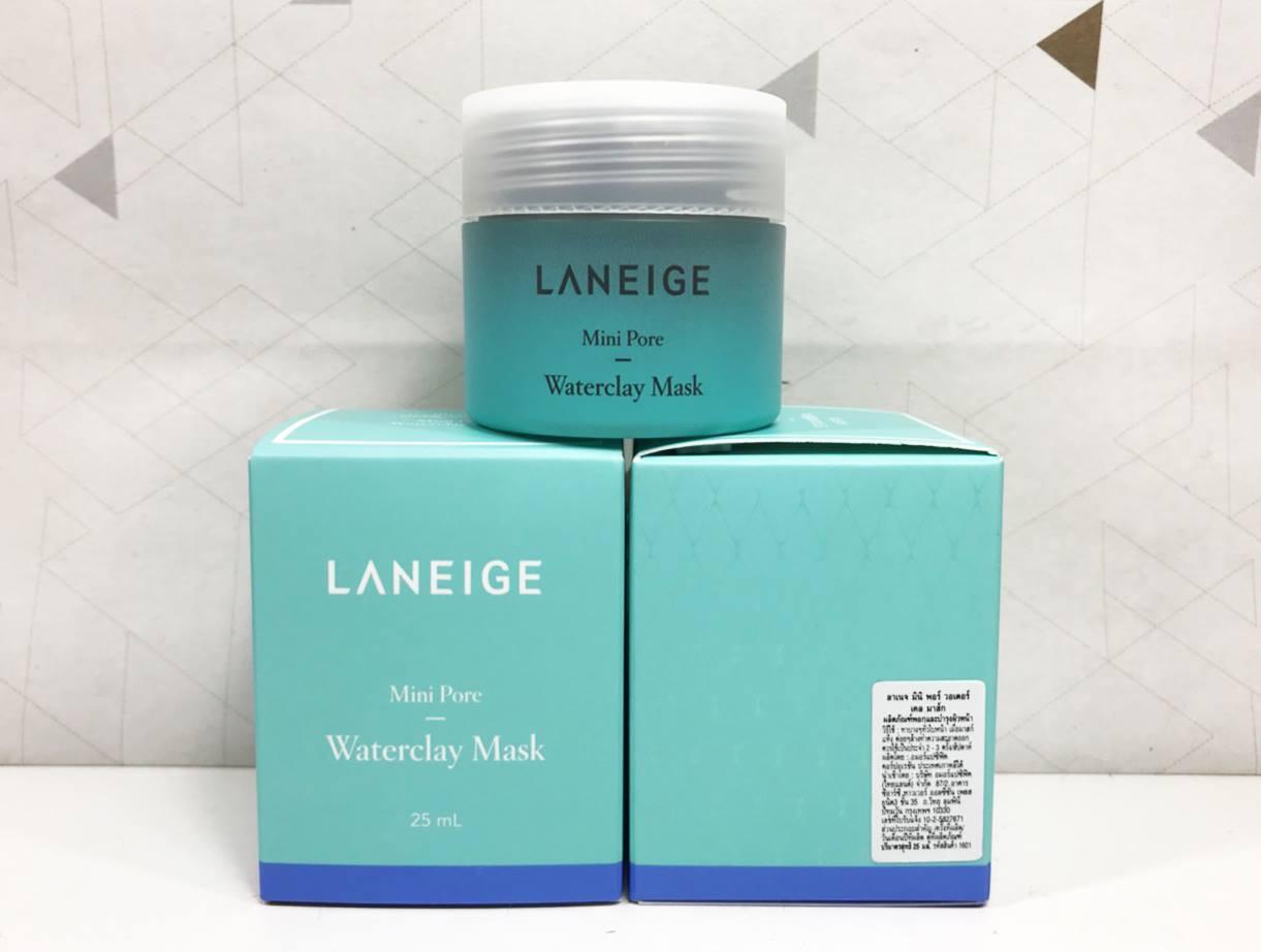 Laneige Mini Pore Waterclay Mask 25ml Wateclay Drsneakerchervy Ctp Fiberryseoul